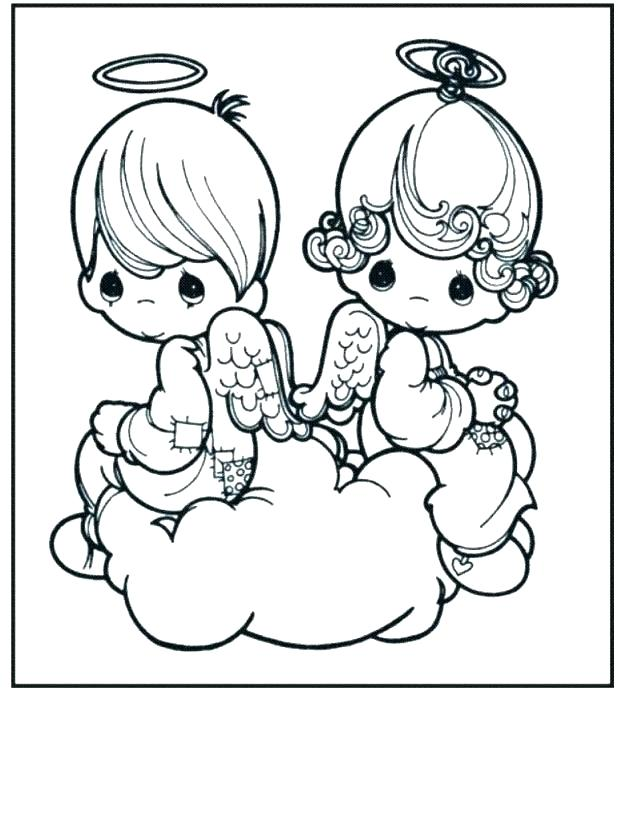 618x821 Printable Angel Coloring Pages Angel Coloring Pages Printable Free