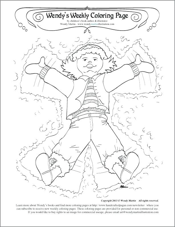 614x794 Coloring Pages Snow