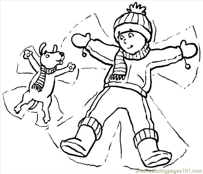 650x558 Snow Angel Coloring Page Snowangels Big Coloring Page Free Angel