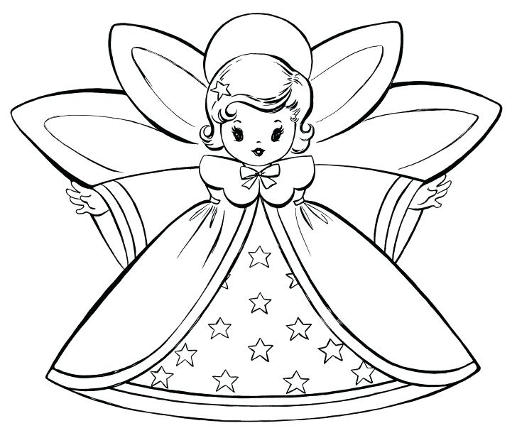 728x610 Angel Coloring Pages Printable Baby Angel Coloring Es Angels
