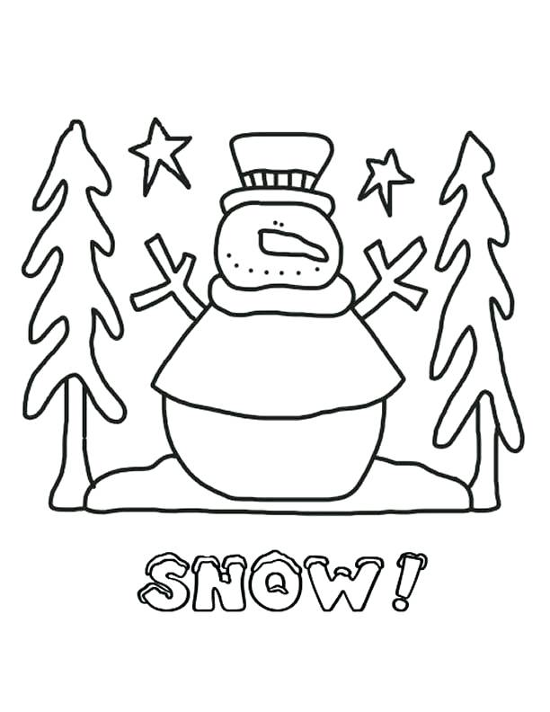 612x792 Snow Coloring Page Coloring Pages Printable Northpole Com Snow
