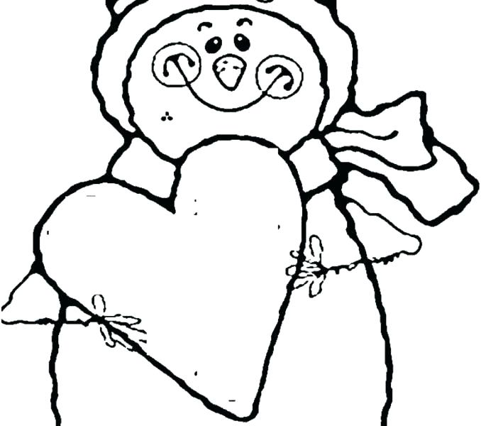 678x600 Snowman Coloring Pages Free Color Bros Frosty The Snowman Coloring