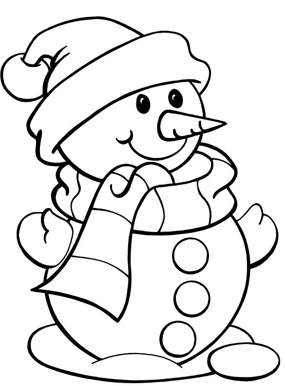 585x792 Christmas Coloring Pages For Kids