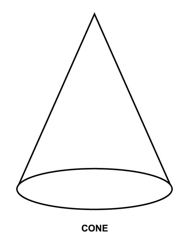612x792 Best Photos Of Cone Coloring Page