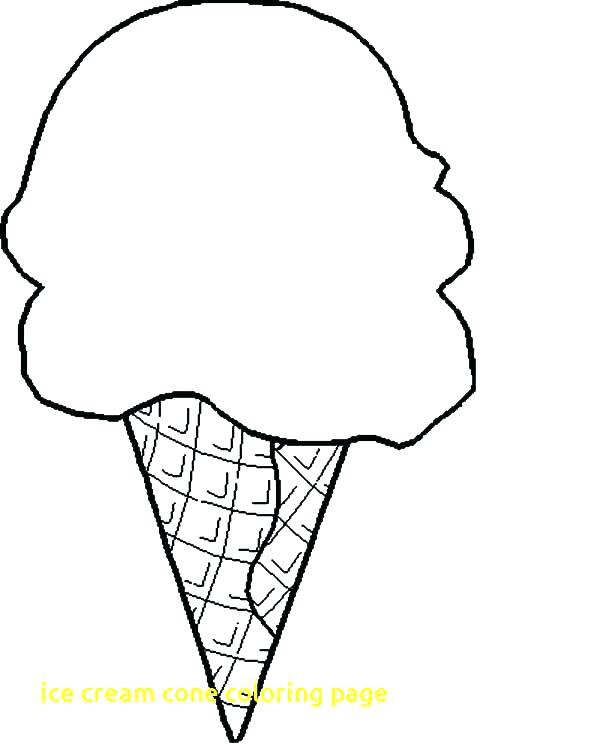 600x750 Coloring Pages Of Ice Cream Cones