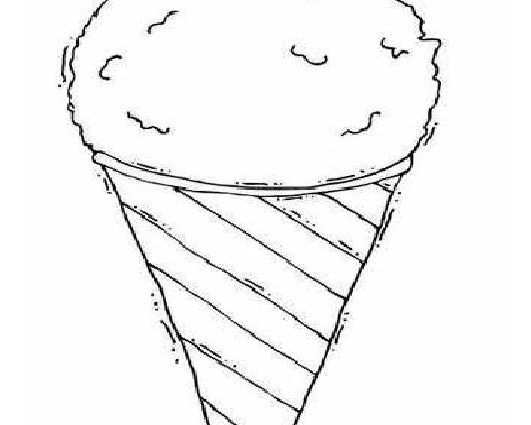 531x425 Snow Cone Coloring Page Summer Coloring Pages Of Ice Cream