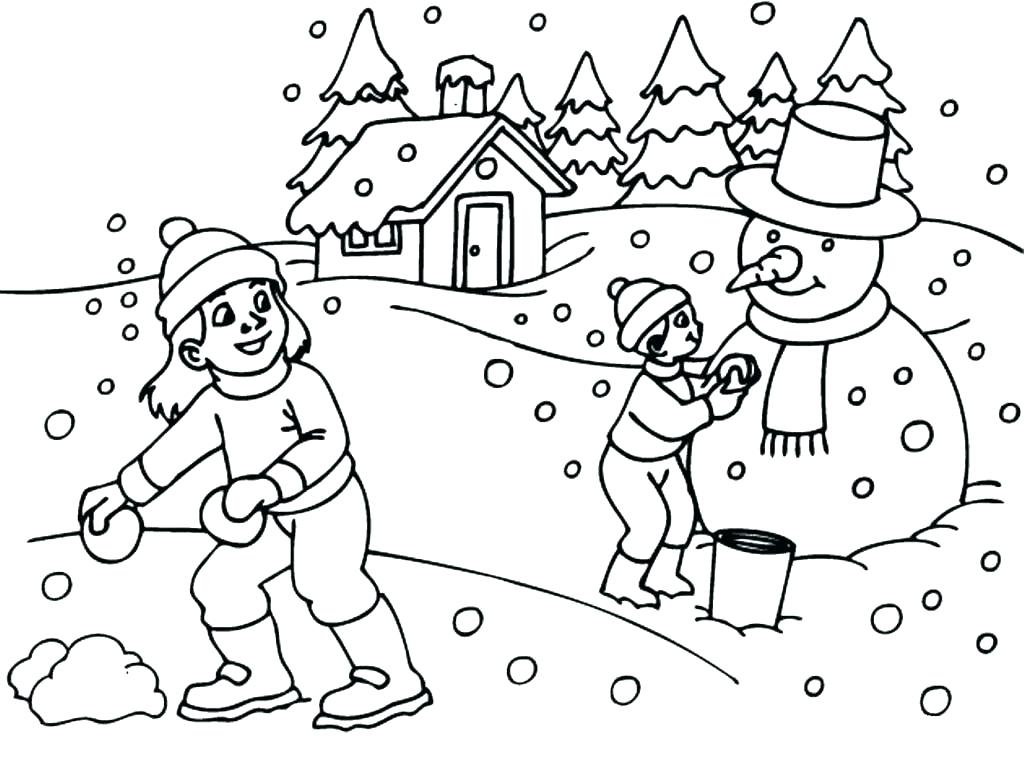 1024x764 Coloring Pages For Teens Free Printable Kids Snow Kid Nice Design