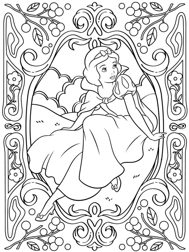 736x981 Celebrate National Coloring Book Day With Disney Style Snow