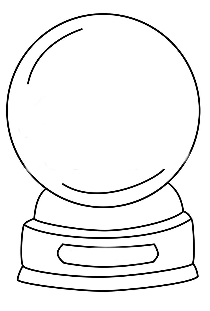 736x1086 Best Snow Globes Images On Inside Globe Coloring Page