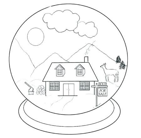 450x440 Globe Coloring Pages Globe Coloring Pages Free Globe Coloring Free