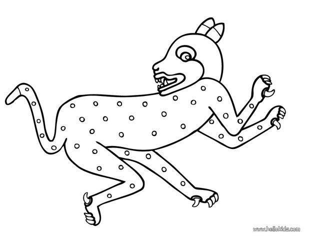 620x480 Snow Leopard Coloring Pages