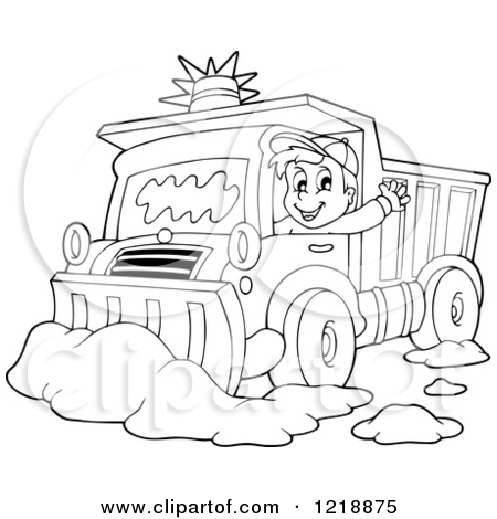 450x470 Snow Plow Coloring Pages