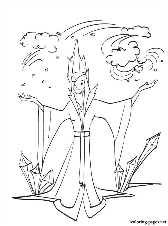 Snow Queen Coloring Pages At Getdrawings Com Free For Personal Use