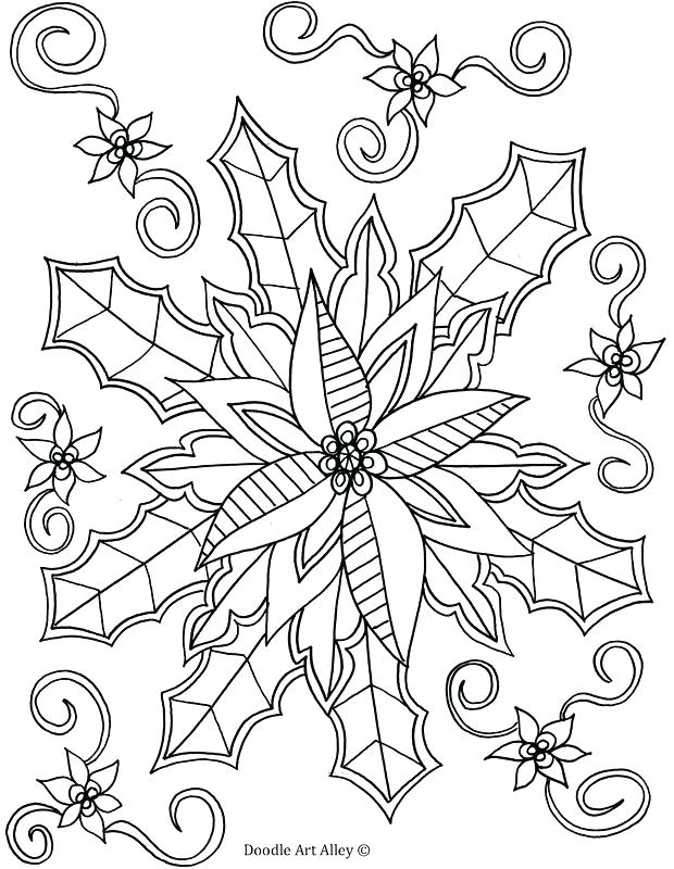 620x800 Winter Scene Coloring Pages