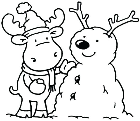 580x501 Free Coloring Pages Winter Coloring Pages For Winter Fun Coloring