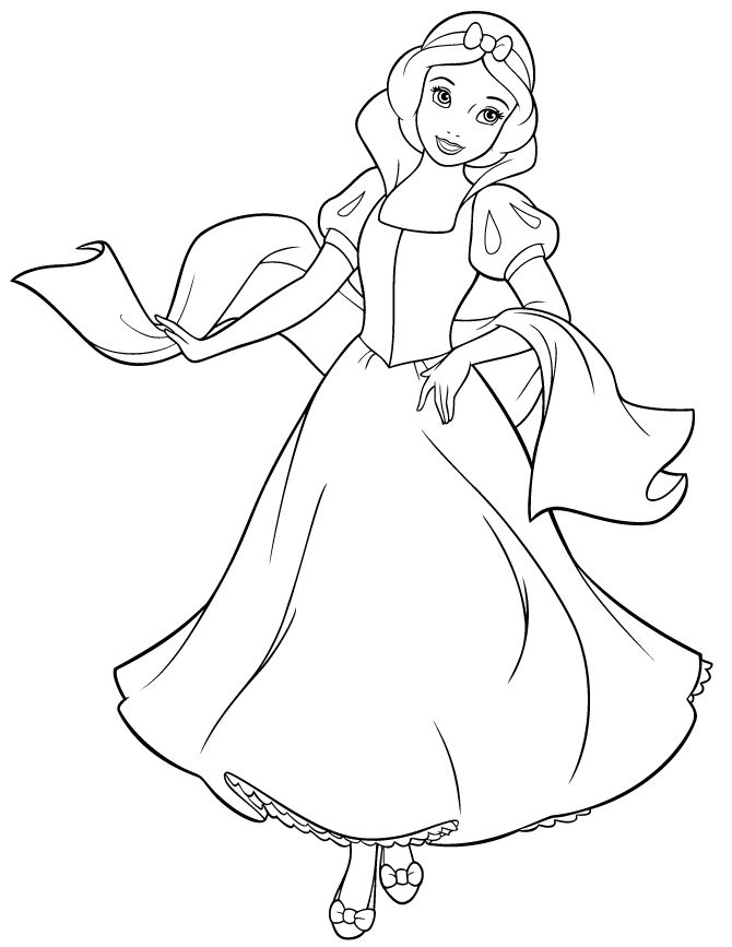 670x867 Ideas About Snow White Coloring Pages On Coloring