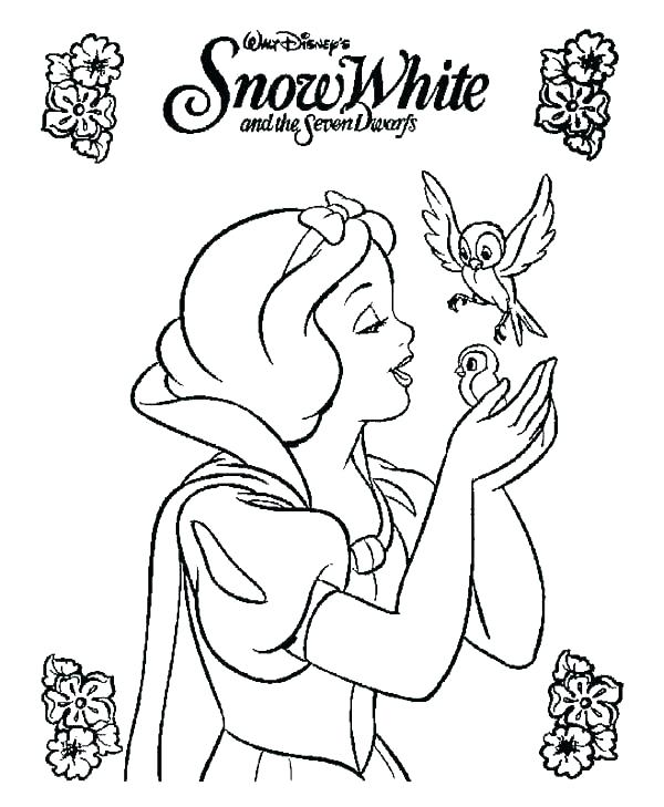 600x729 Snow White And The Seven Dwarfs Coloring Pages Dwarfs Coloring