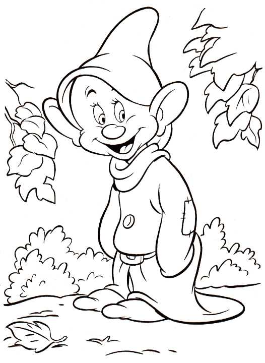 526x720 Snow White Coloring Pages Luxury Dwarfs Coloring Pages Logo