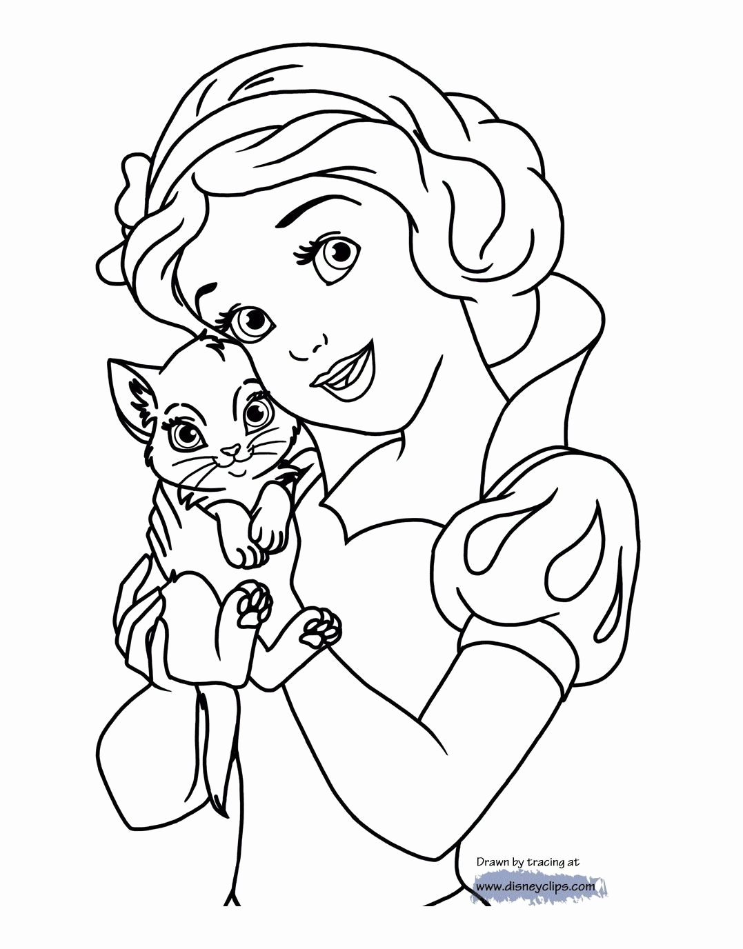 1077x1376 Snow White And The Seven Dwarfs Coloring Pages Finest Disney Snow