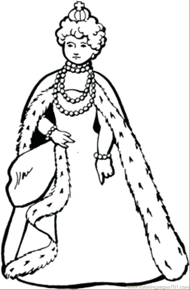 650x989 Great Queen Coloring Page Free Royal Family Coloring Pages Great