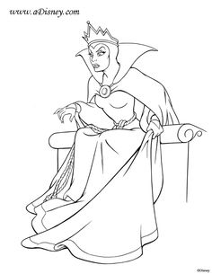 236x305 Queen Of Hearts, Alice In Wonderland, Disney Coloring Pages, Color