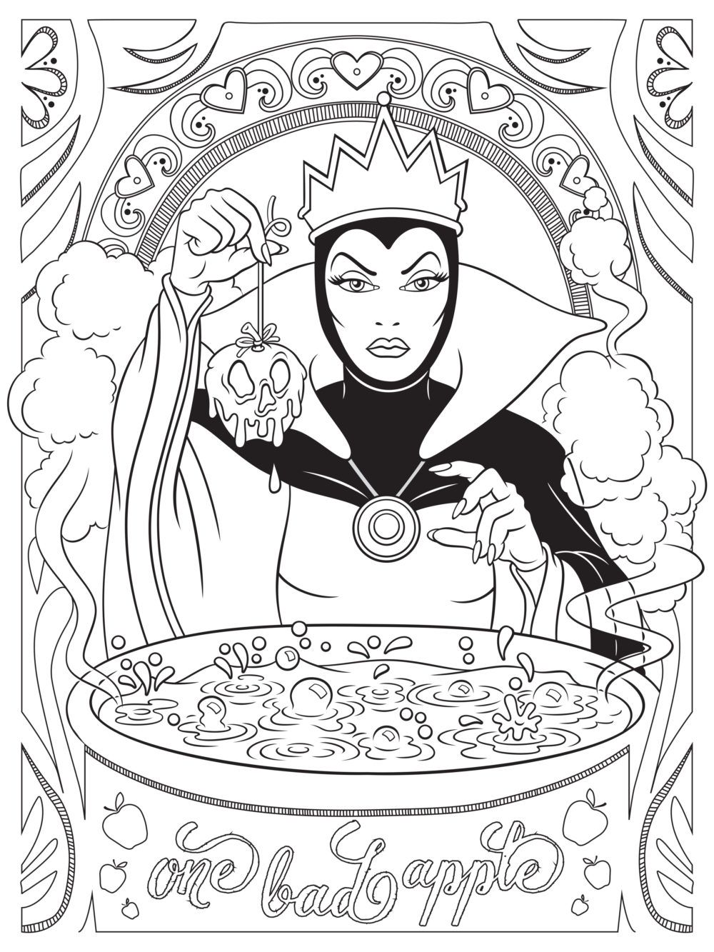 1000x1333 Celebrate National Coloring Book Day With Disney Style, Coloring