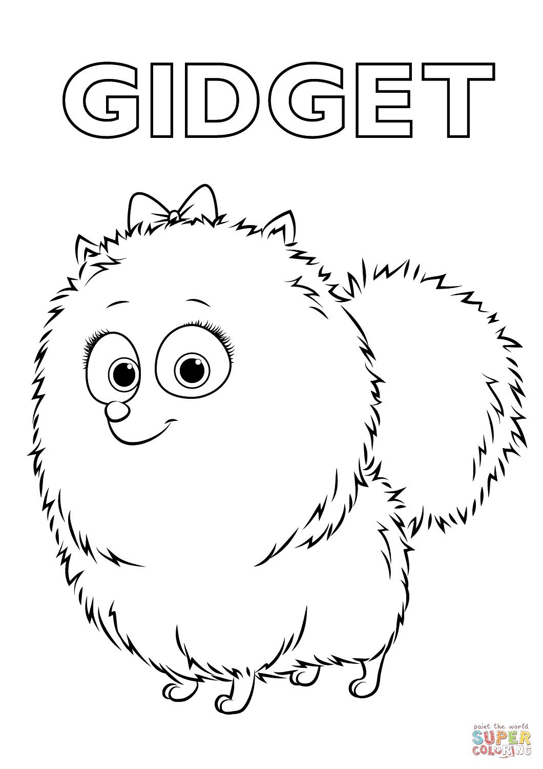 1060x1500 Max From The Secret Life Of Pets Coloring Page Skylars Fair
