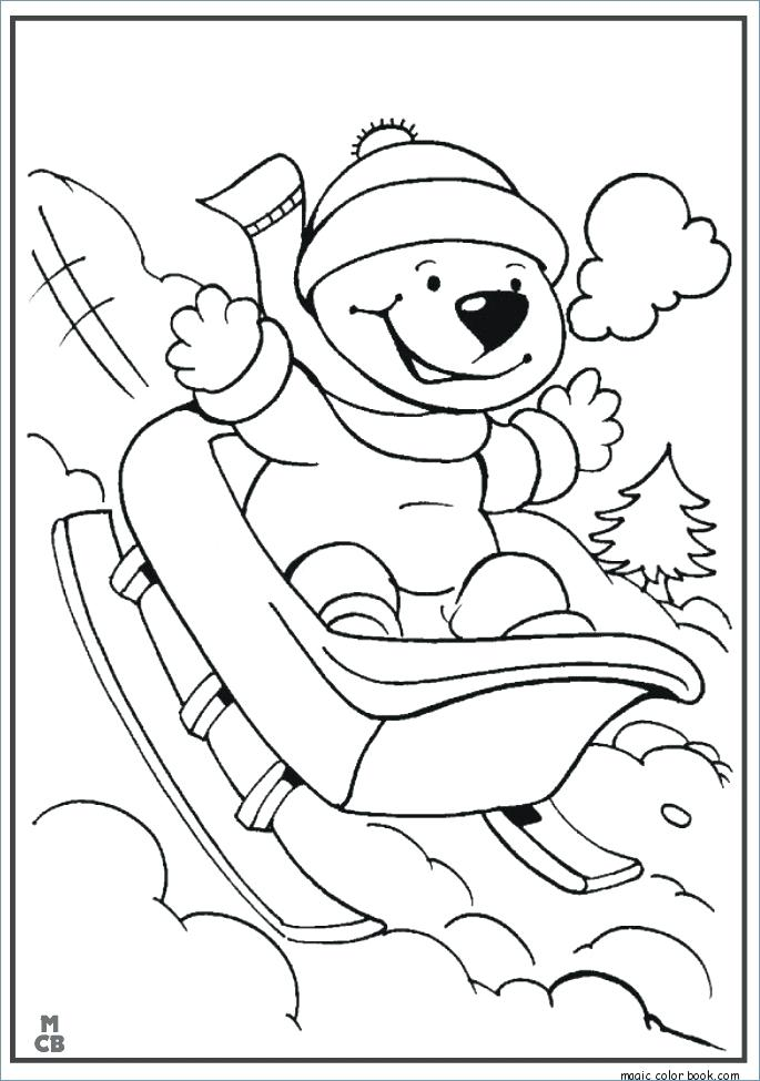 685x975 Snowball Fight Winter Coloring Pages Snowman Winter Archives Magic
