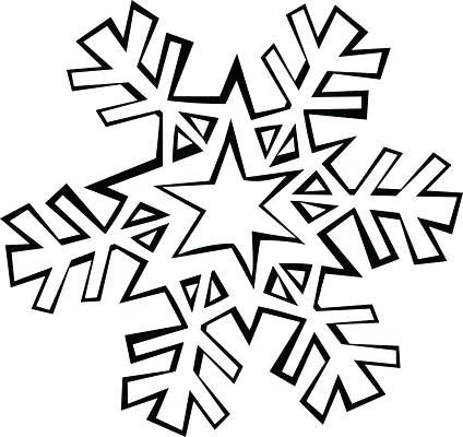 424x400 Printable Snowflake Coloring Pages Printable Snowflake Winter