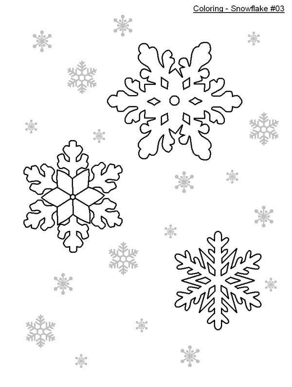 600x793 Nice Snowflakes Coloring Page Color Luna