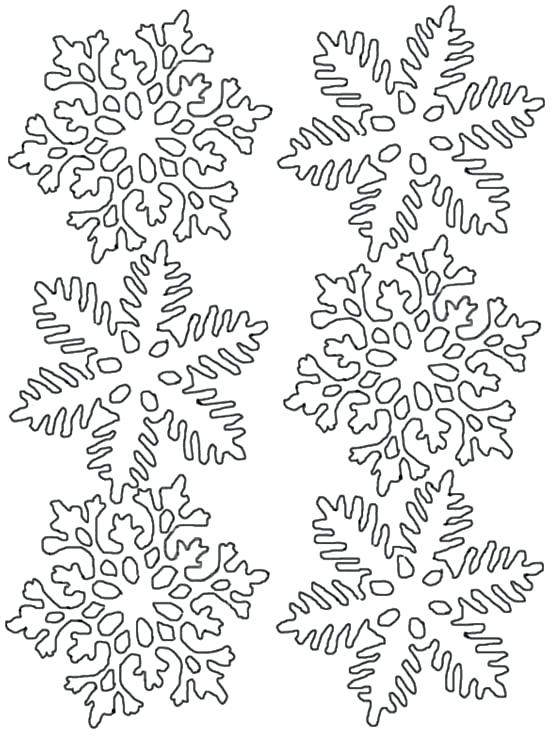Snowflake Coloring Pages For Adults at GetDrawings.com ...
