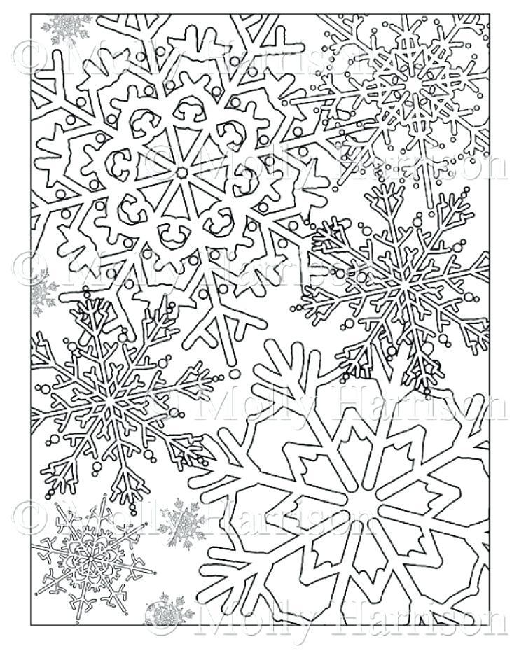741x960 Printable Snowflake Coloring Pages Printable Snowflake Coloring