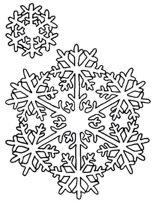 610x800 Snowflakes Coloring Page Snowflake Coloring Pages Snowflake