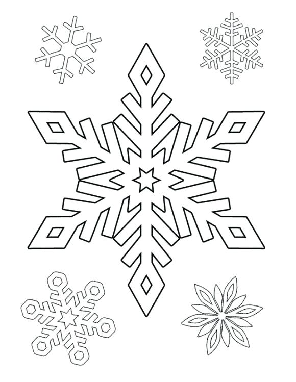 580x749 Snowflakes Coloring Pages Coloring Pages Snowflake Coloring Page