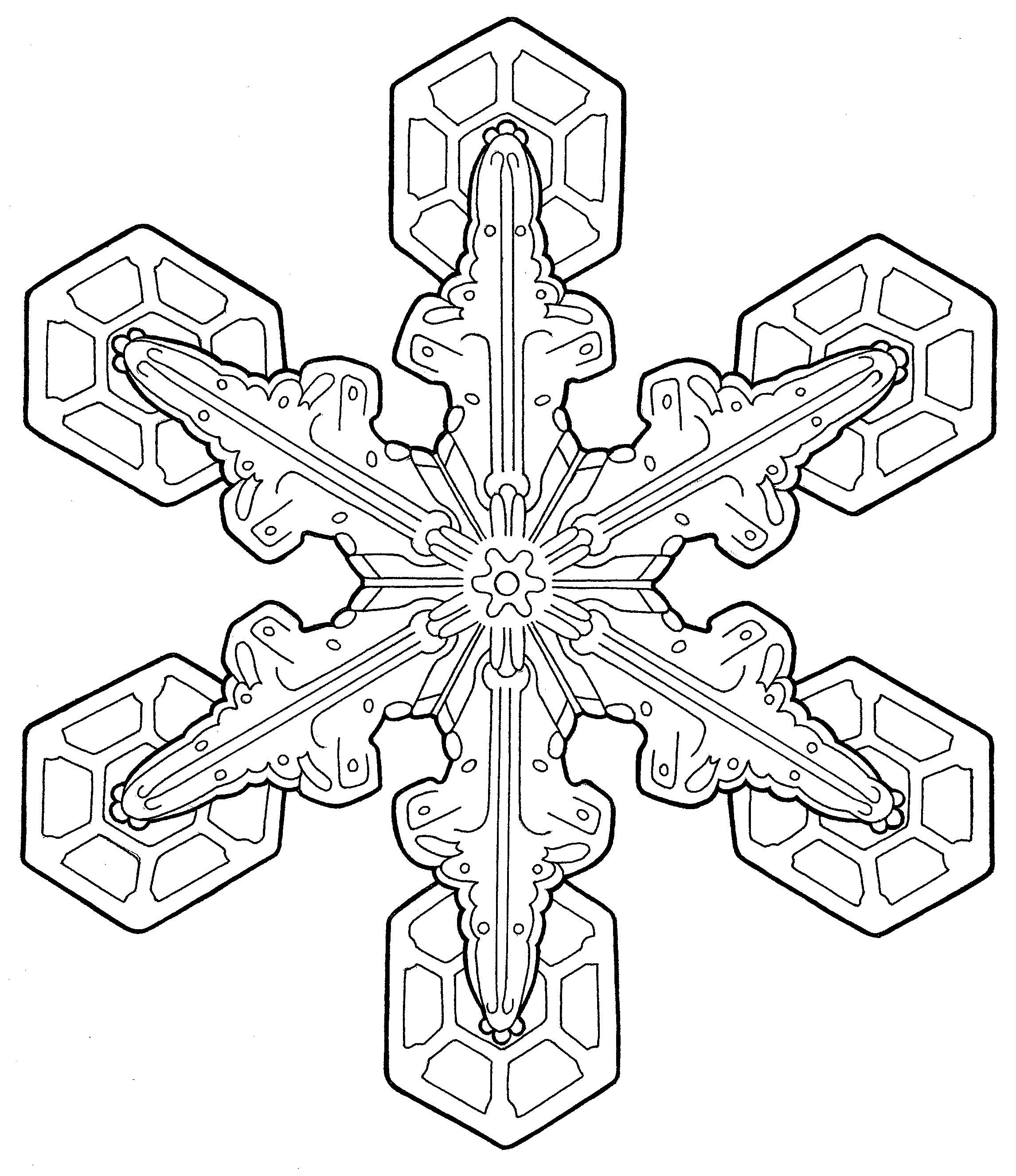 2292x2654 With Snowflake Coloring Pages For Adults