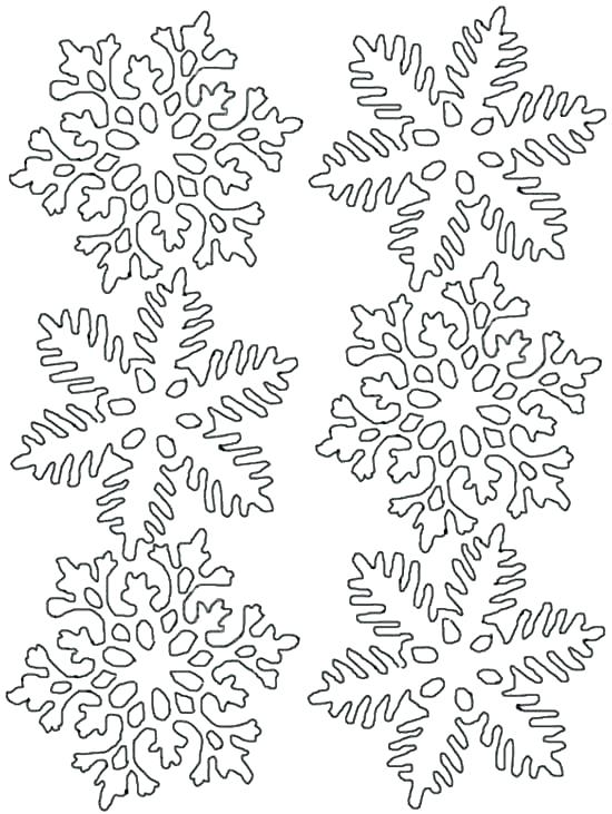 550x731 Printable Snowflake Coloring Pages Printable Snowflake Mandala