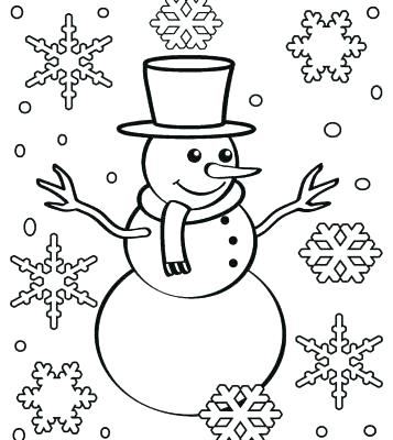357x400 Snow Flake Coloring Pages Snow Flake Coloring Pages Elegant