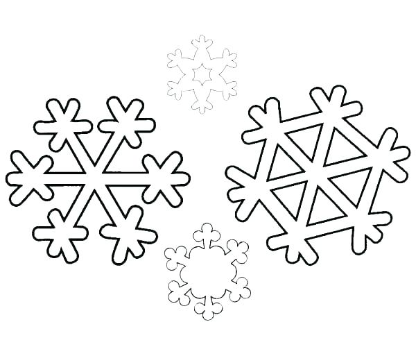 600x500 Coloring Page Snowflake Colouring Pages Snowflake Coloring Pages