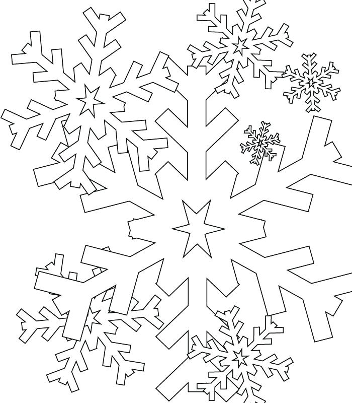 700x800 Free Snowflake Coloring Pages Coloring Page Snowflake Free Adult