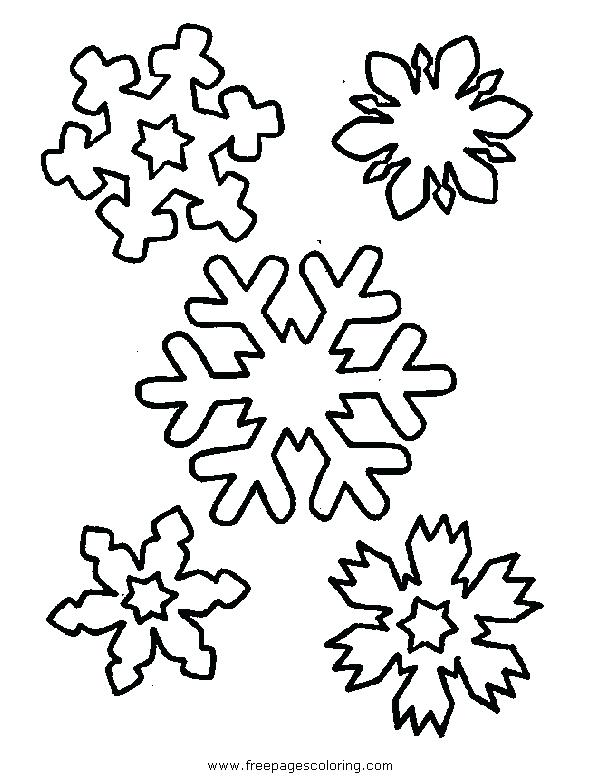 600x777 Snow Flake Coloring Page Snowflake Coloring Pages To Print