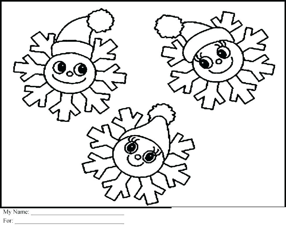 976x768 Coloring Page Snowflake Cute Snowflake Coloring Page Preschool