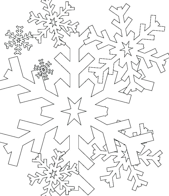 689x800 Snowflake Coloring Pages Snowflake Coloring Page S Snowflake