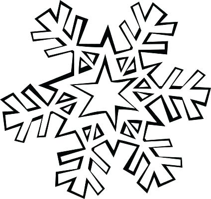 424x400 Snowflake Coloring Pages Snowflakes Coloring Page Frozen Snowflake