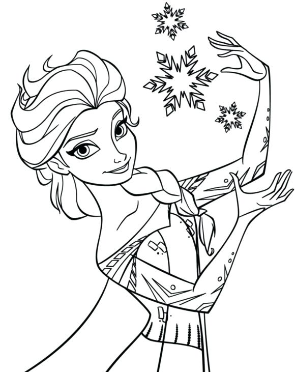 580x731 Coloring Page Snowflake Snowflake Coloring Page Frozen Coloring