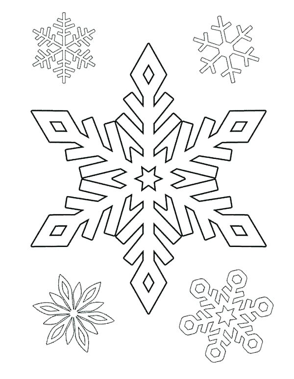 600x775 Snowflakes Printable Coloring Pages Snowflakes Printable Coloring