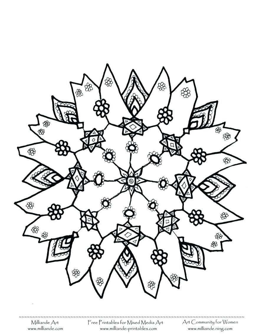 878x1137 Nice Snowflake Pictures To Print Special Snowflakes Coloring Pages