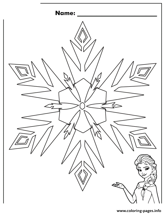 670x868 Snowflake Coloring Pages Luxury Printable Snowflake Coloring Pages