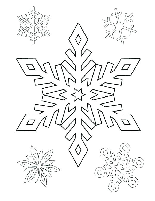 600x775 Snowflake Coloring Pages Snowflake Coloring Pages Snowflakes