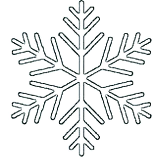 618x636 Free Printable Snowflake Coloring Pages