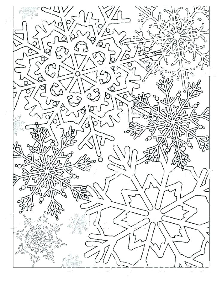 741x960 Snowflake Images To Print
